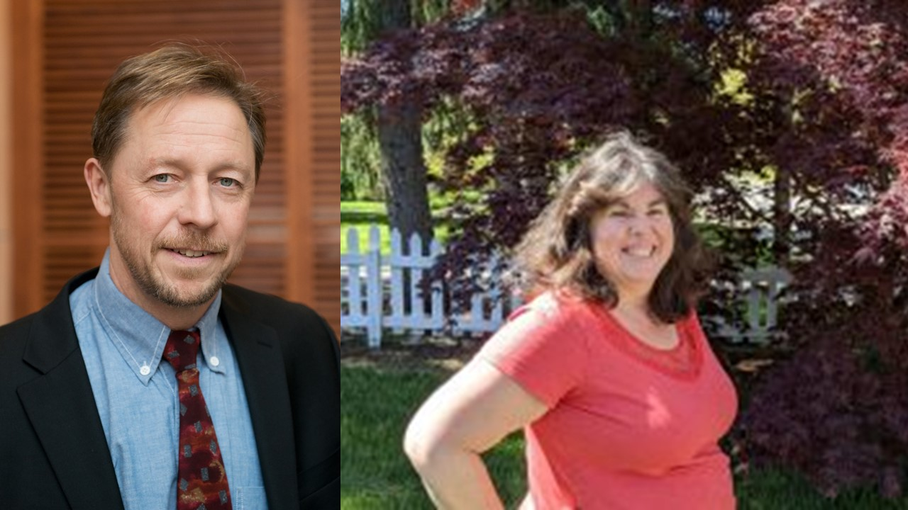 Congratulations Dr. Jeff Leips and Sandy Johnson!